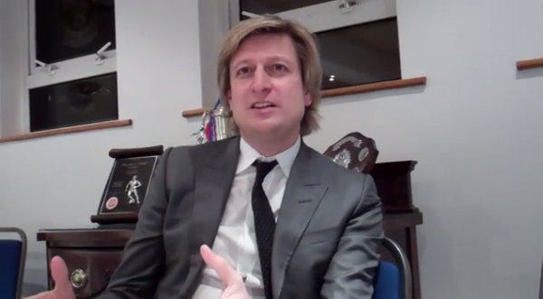 Chairman of a Crystal Palace Vs Running Tag Worldwide: Steve Parish