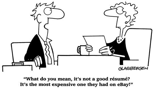 A good CV or not a good CV. That is the question…
