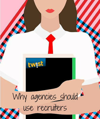 Why agencies should use recruiters